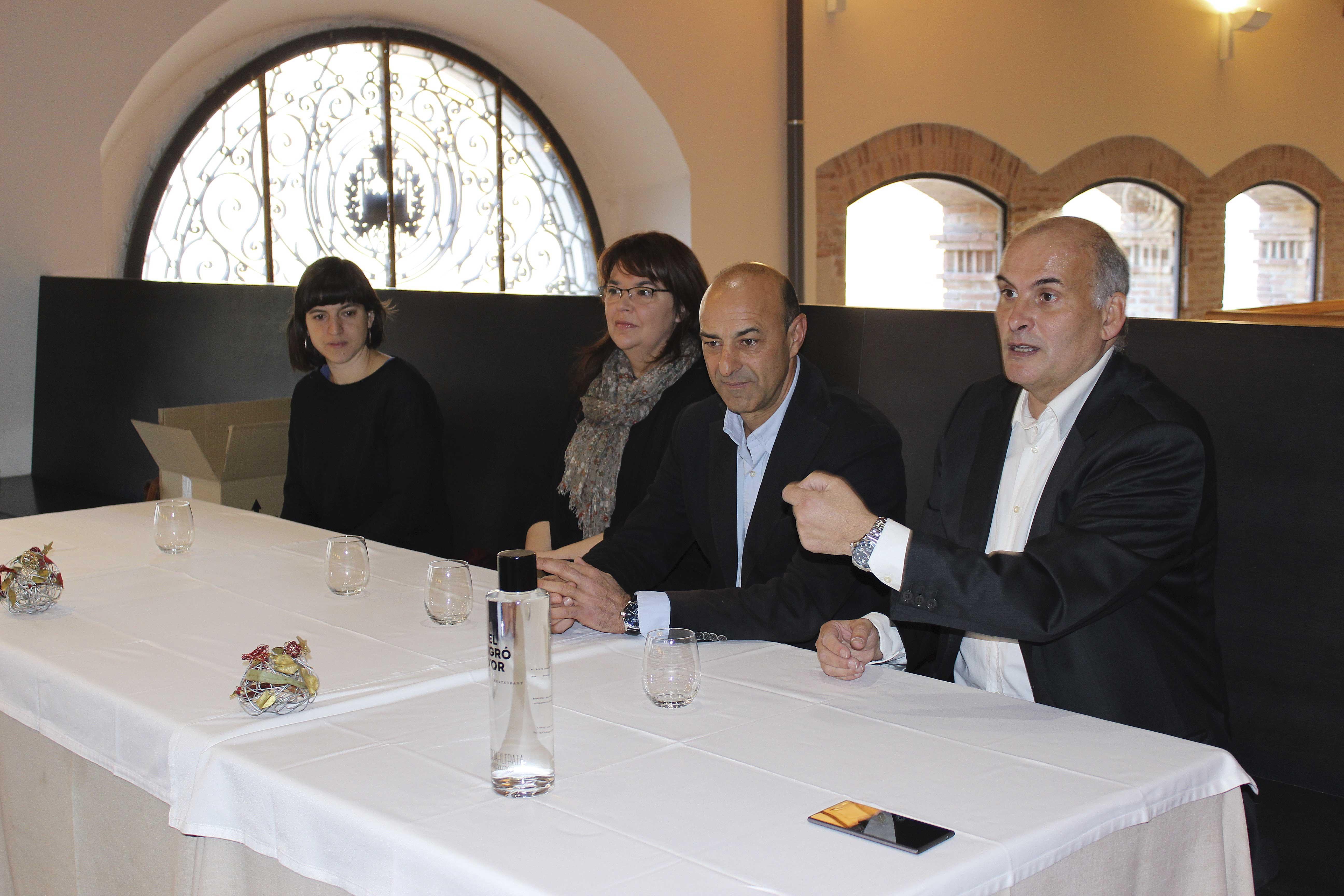 Laura Rafecas, Roser Serra, Joan Manel Montfort i Enric Cervera