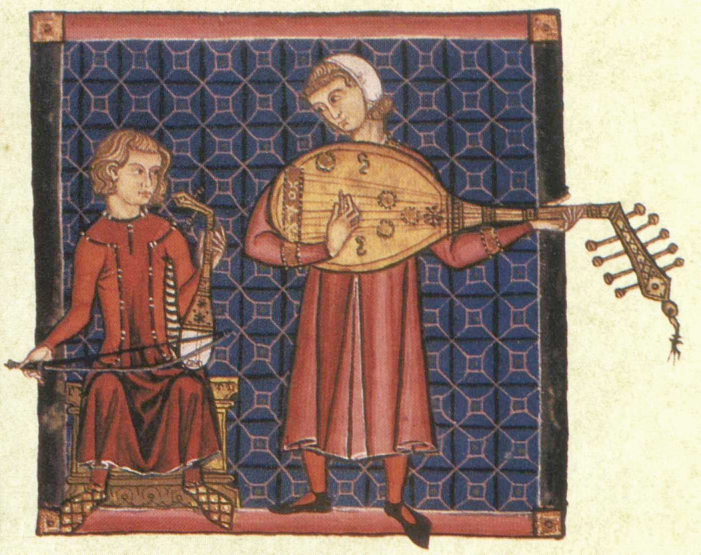 Cantiga_bowed_plucked_lutes