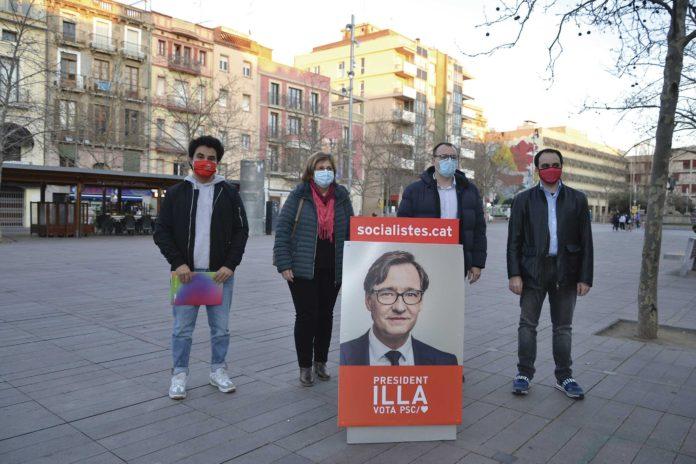 Candidats de l'Alt Penedès i el Garraf pel PSC