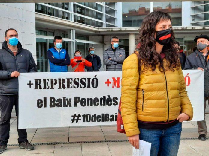 Maria Mestre, davant dels jutjats