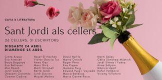 Imatge del cartell de Sant Jordi als cellers.