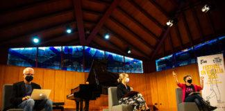 Presentació del Festival En Veu Alta, que ha tingut lloc a l'Auditori Pau Casals del Vendrell