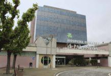 Façana de l'entrada principal de l'Hospital comarcal de l'Alt Penedès